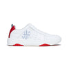 Women's Icon 2.0 Red White Leather Sneakers 96502-018