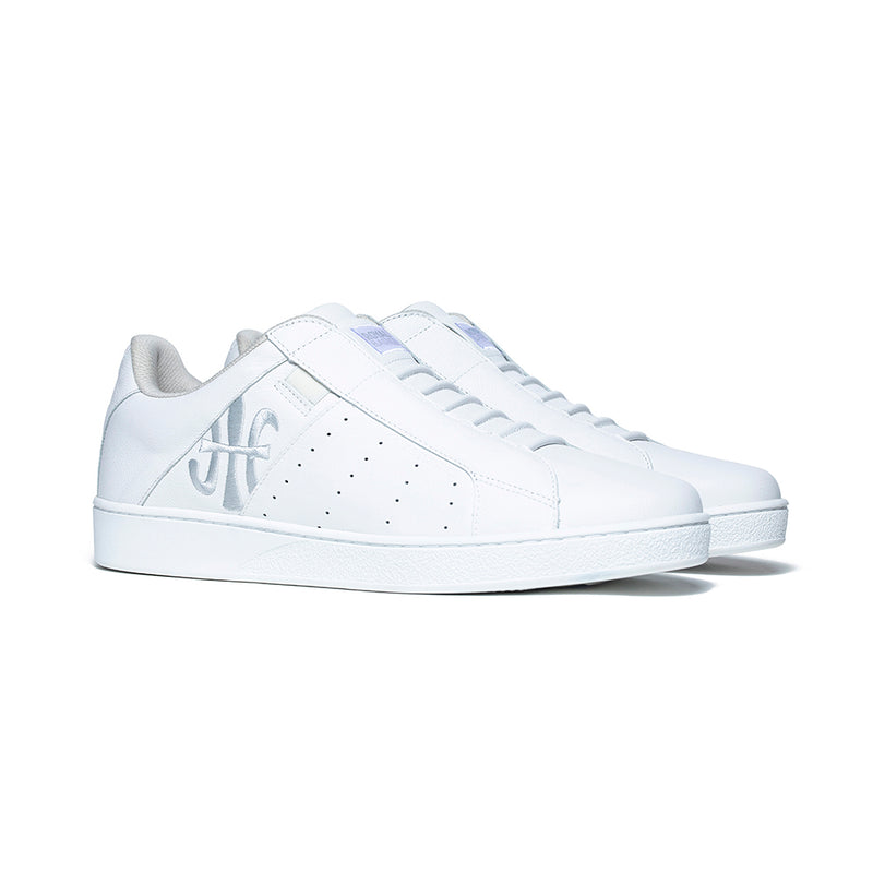 Men's Icon Genesis White Leather Sneakers 01901-000 - ROYAL ELASTICS