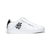 Men's Icon Genesis White Black Leather Sneakers 01901-090 - ROYAL ELASTICS