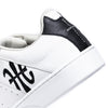 Men's Icon Genesis White Black Leather Sneakers 01994-009 - ROYAL ELASTICS