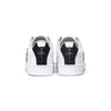Men's Icon Genesis White Black Leather Sneakers 01994-009