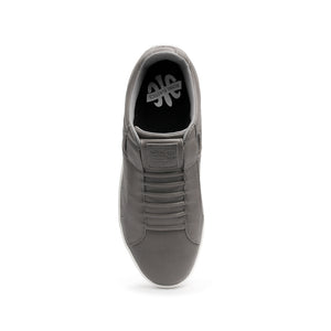 Men's Icon Classic Deep Gray Leather Sneakers 02092-888 - ROYAL ELASTICS