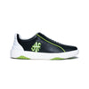 Men's Icon Archer Black Green Leather Sneakers 06394-904 - ROYAL ELASTICS