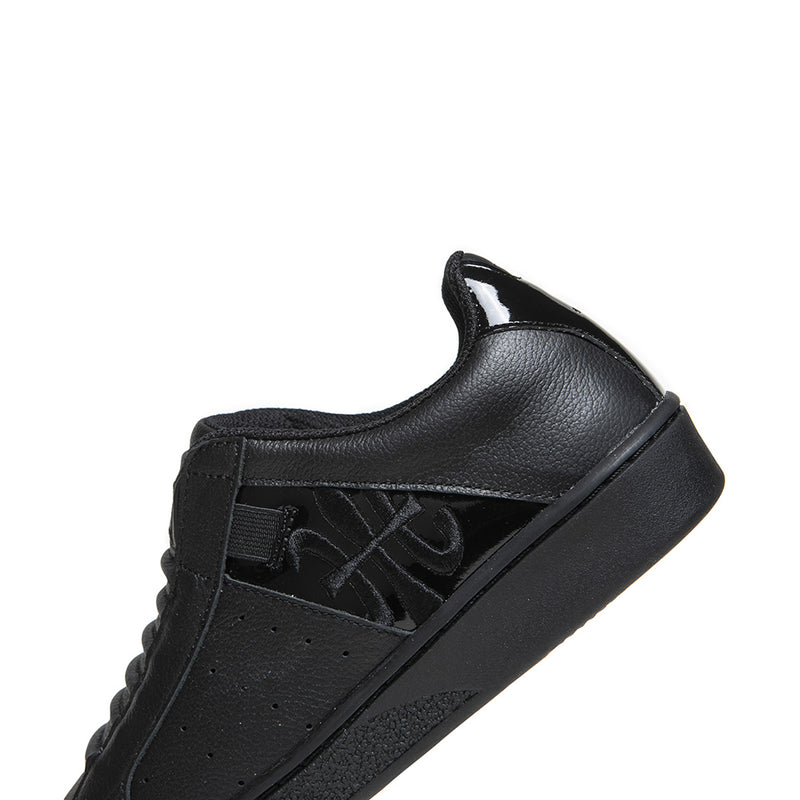 Women's Icon Black Leather Sneakers 91903-999