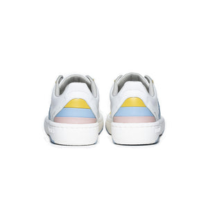Women's Icon Archer Blue Logo Leather Sneakers 96301-013