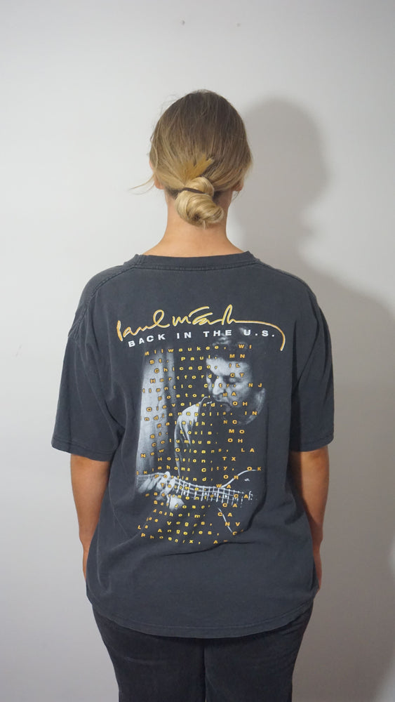 VTG Paul McCartney 'Back in the US' tour Tshirt
