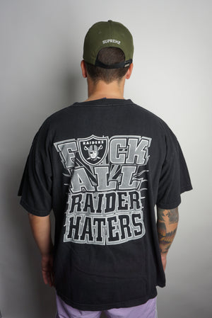 VTG Raiders For Life T-shirt