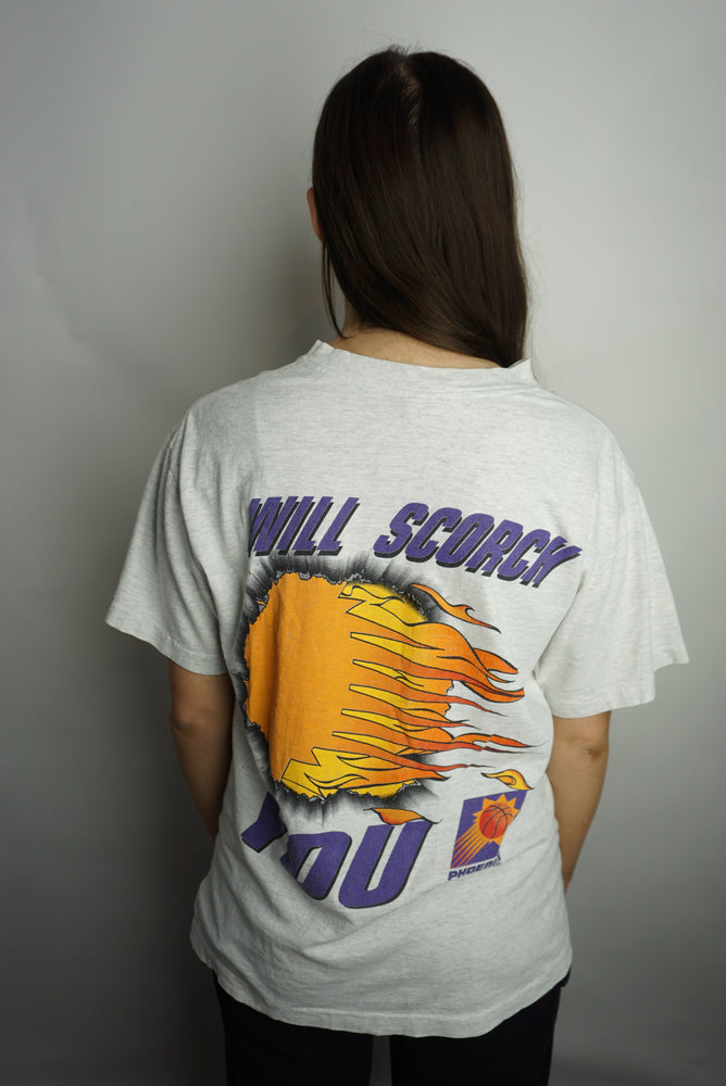 VTG Phoenix Suns 'Will scorch you' t-shirt