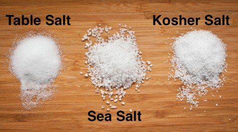 It's all salt to me