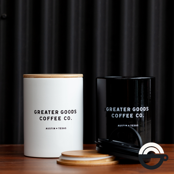 GG Coffee Canister