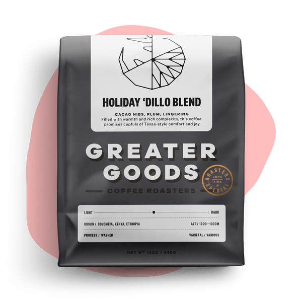 Holiday 'Dillo Blend