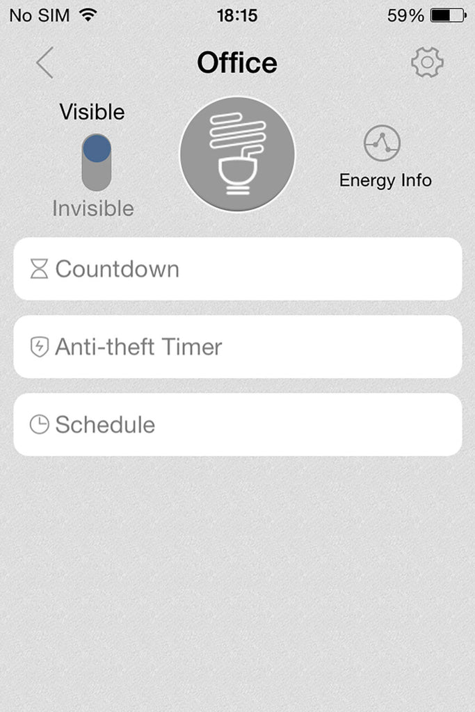 INPLUG APP CONTROLLED HOME POWER SOCKET with Energy Monitor