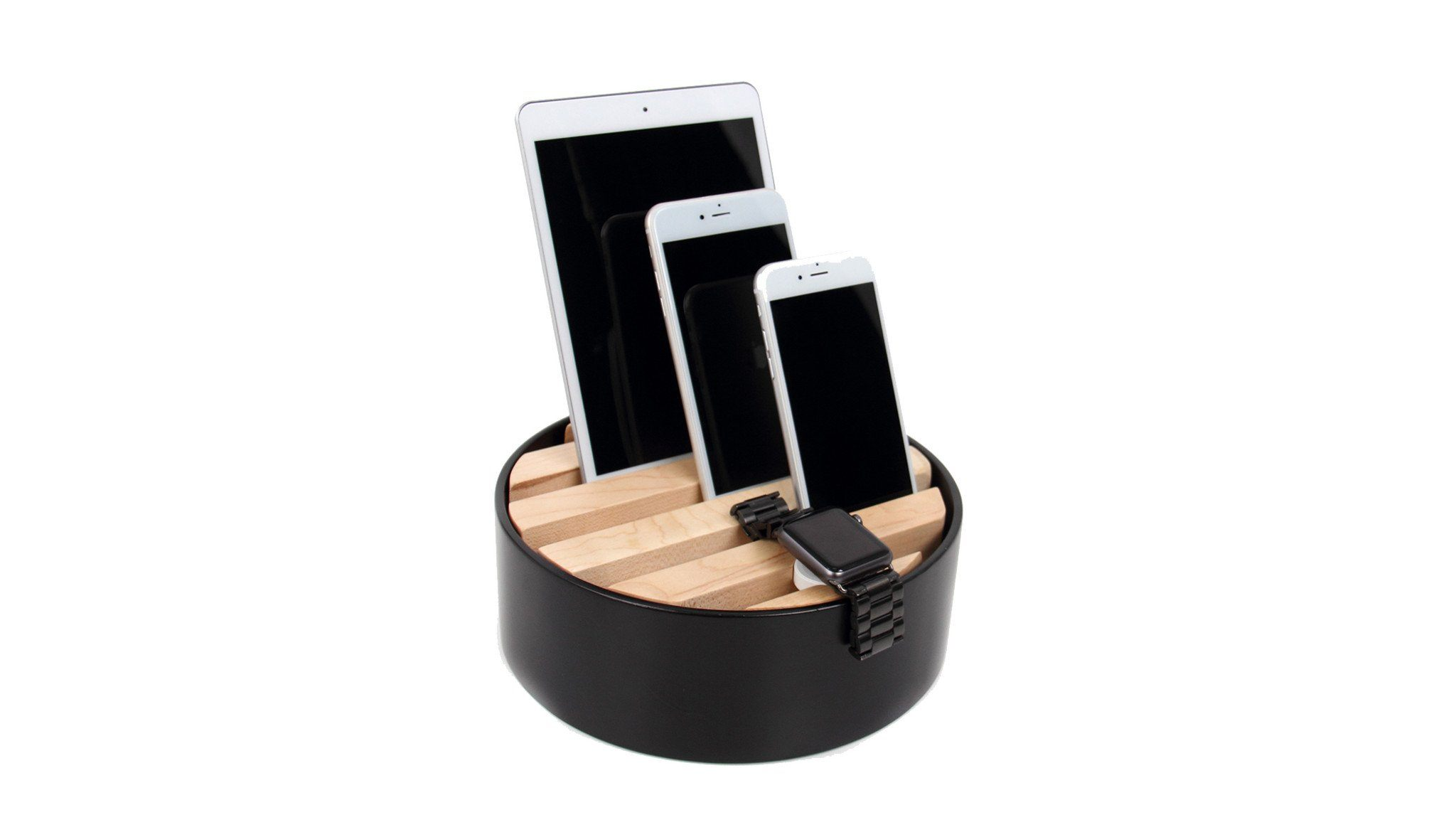 Trellis Furniture - TRELLIS Desktop Charger Black