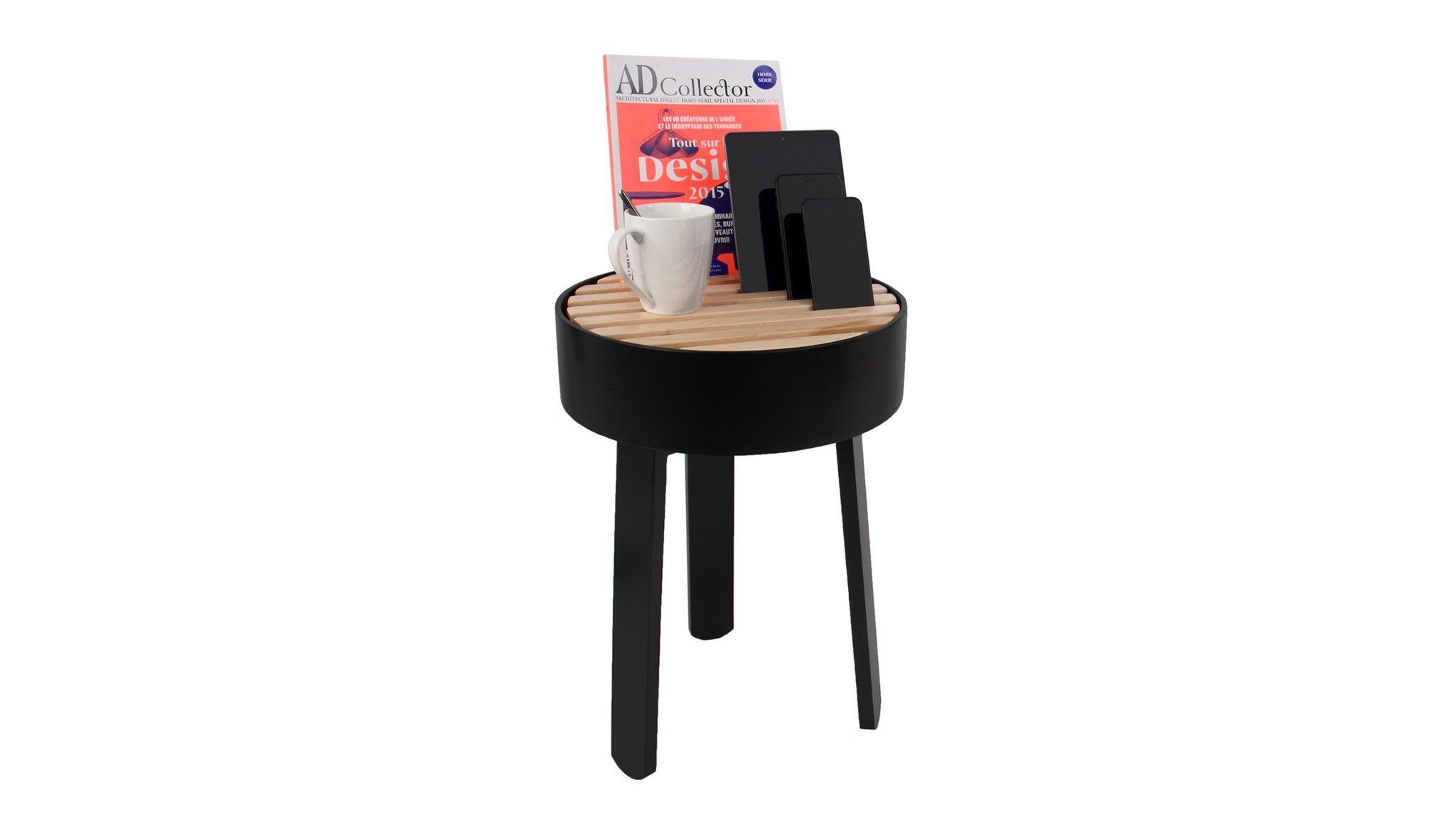 Trellis Furniture - TRELLIS Side Table Black