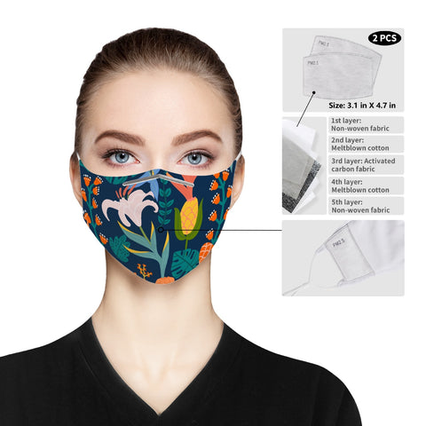 185. Cloth Face Mask For Adults