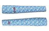 Blue Floral Arm Warmers