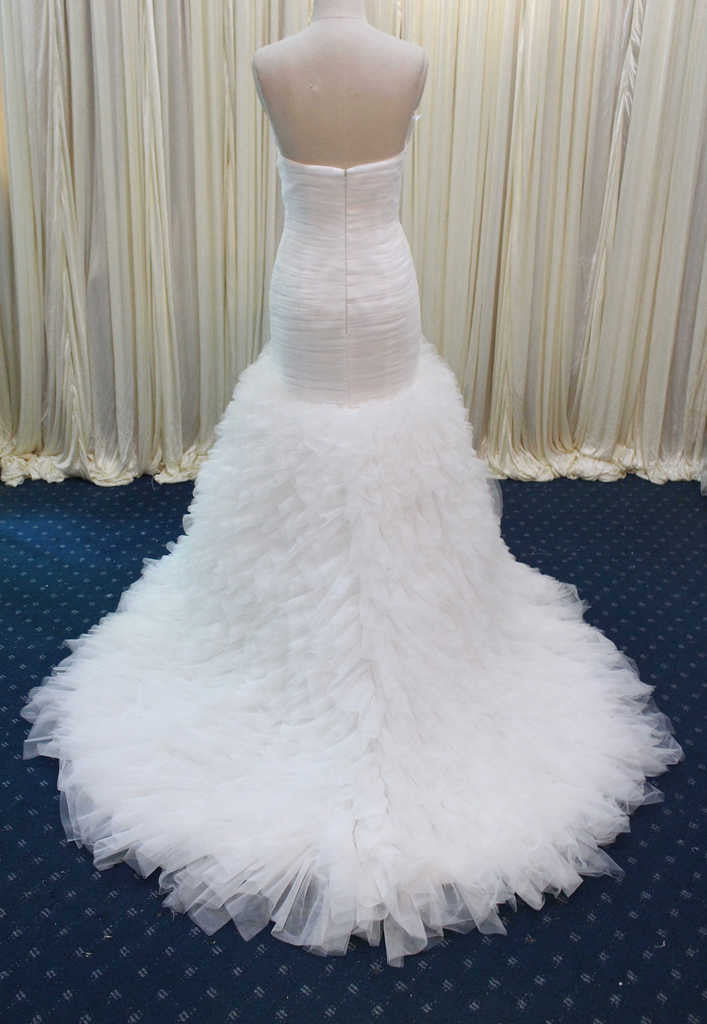 Sweetheart Organza Wedding Dress Evening Gown Plus Size Available ...