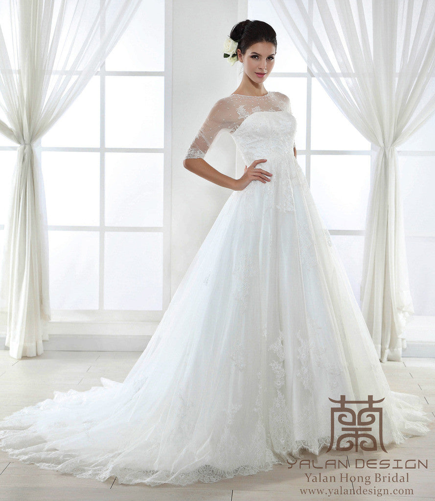 Custom Made Bridal Gowns, Design Your Own Dress - Yalan Wedding Couture