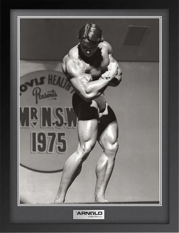 Mr NSW 1975 Single Bicep Leaned