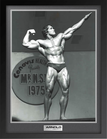 Mr NSW 1975 Pointed Pose