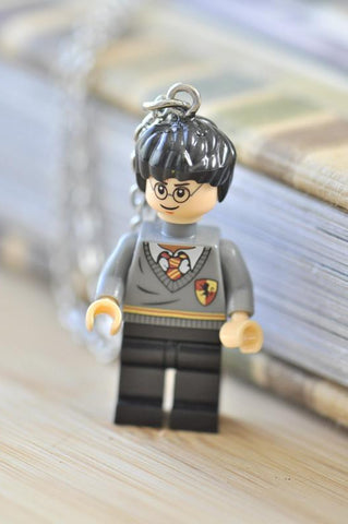 Superhero Lego Inspired Novelty Necklace - Harry Potter