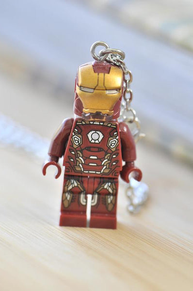 Superhero Inspired Novelty Necklace - Iron Man