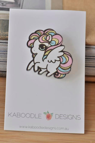 Acrylic Laser Cut Unicorn Brooch