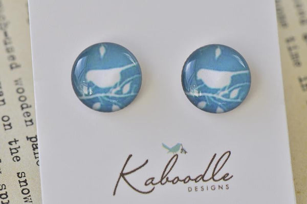Handmade Artwork Stud Earrings - ER156