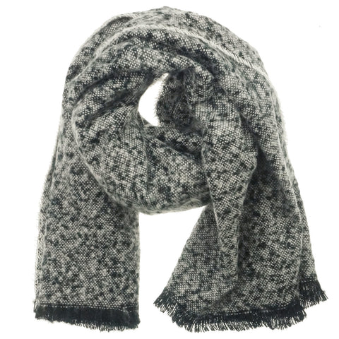 Winter Scarf - Black and White