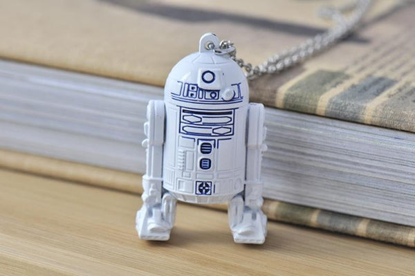 Star Wars Inspired Astromech Droid Robot Large Necklace