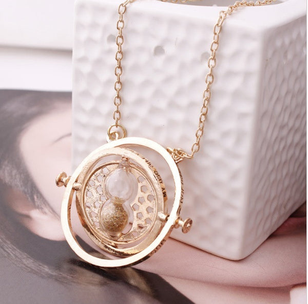 Harry Potter Inspired Time Turner Necklace