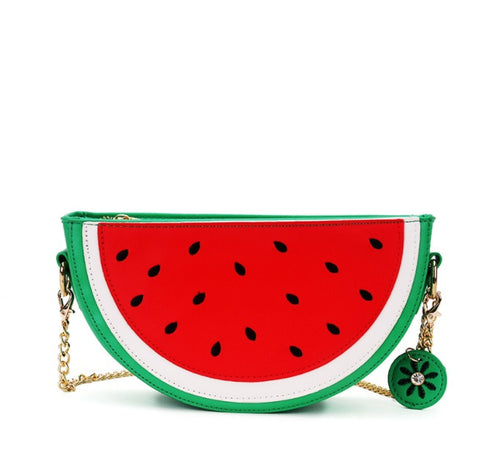Watermelon Crossbody Handbag