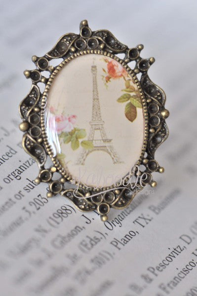 A Moment In Paris - Vintage Inspired Ring