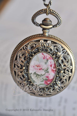 Allure - Pocket Watch Necklace