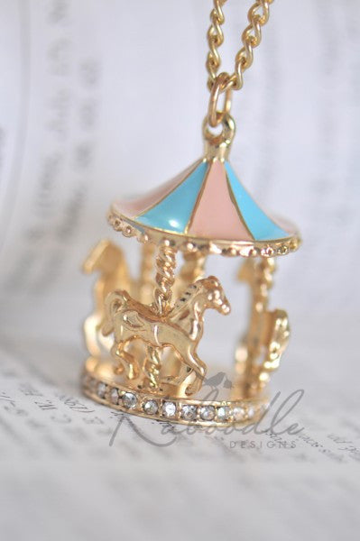 Carousel Fun Necklace