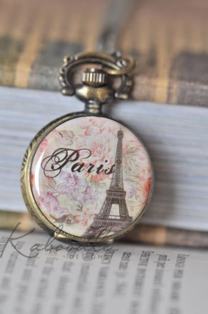 Dreams Come True - Pocket Watch Necklace