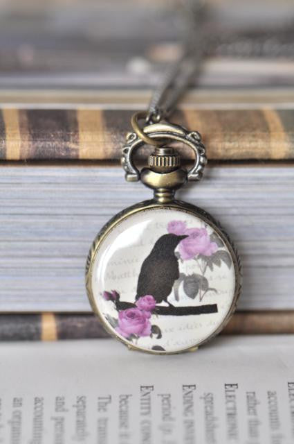 Elegance - Pocket Watch Necklace