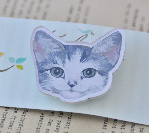 Happy Cat - Cat Face Personality Acrylic Perspex Brooch