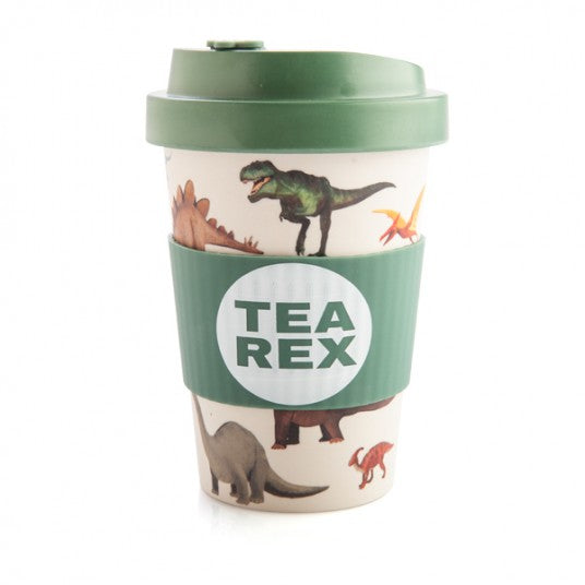 Dinosaur T-Rex Eco To-Go Bamboo Cup Travel Mug
