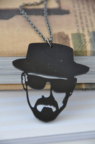 Breaking Bad Laser Cut Acrylic Perspex Necklace