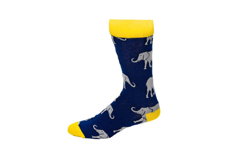 Novelty Fun Socks - Elephant
