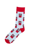 Novelty Fun Socks - Retro Gameboy