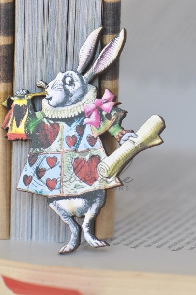 Herald Rabbit Brooch