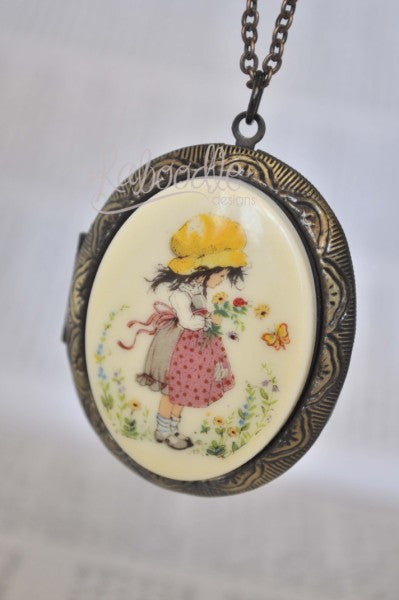 Holly Hobbie Locket