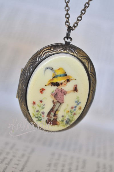 Holly Hobbie Meadow Locket