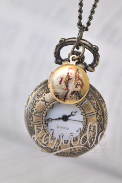 I Wonder - Pocket Watch necklace