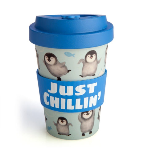 Penguin Eco To-Go Bamboo Cup Travel Mug