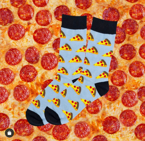 Novelty Fun Socks - Pizza