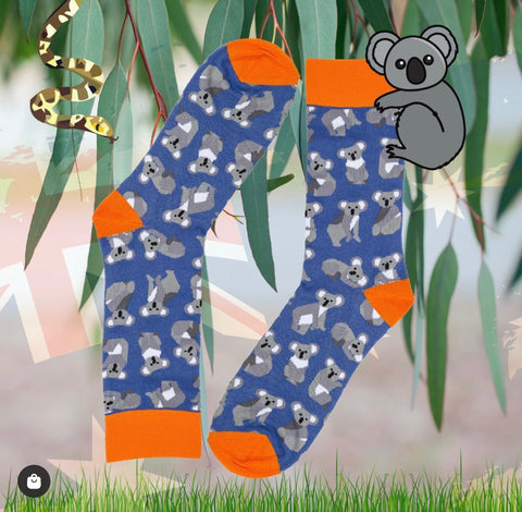 Copy of Novelty Fun Socks - Aussie Koala