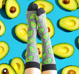 Novelty Fun Socks - Avocado